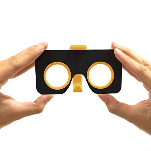 I Am Cardboard Pocket 360 Mini VR Viewer Google Cardboard v2 Inspired Small and Unique Travel Gift Under 20 Dollars The Best Google Cardboard Virtual Reality Glasses