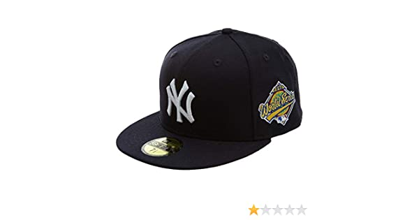 11783652-NAVY Size New Era Mlb18 5950 Wool Ws New York Yankee Fitted Hat Style 7 3//4