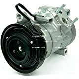 New AC Compressor With 1 Year Warranty for: 2001 - 2007 Chrysler Dodge Minivan