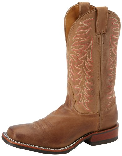Nocona Boots Women's Vintage Cow Deep Scallop Boot - Tan ...