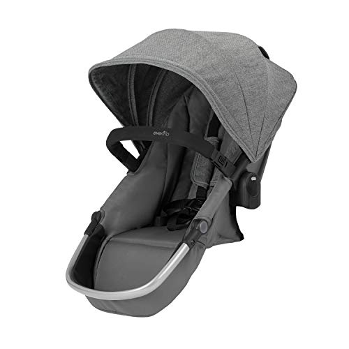 Evenflo Pivot Xpand Modular Stroller Second Seat, Compatible with Evenflo Pivot Xpand Modular Travel System & Modular Stroller, Holds Up to 55-lbs, Multiple Configurations, Percheron ()