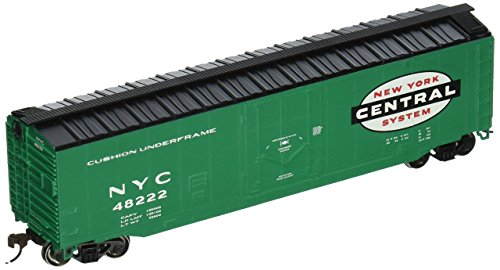 Bachmann Trains New York Central 50' Plug-Door Box Car-Ho Scale Bachmann 50' Plug Door Box