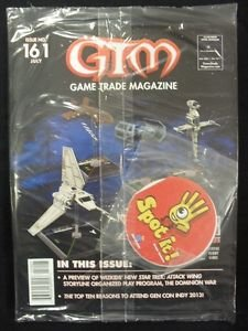 Heroclix Miniature (Game Trade Magazine GTM Issue 161 July 2013 - Star Wars X-Wing Miniatures Star Trek Attack Wing)