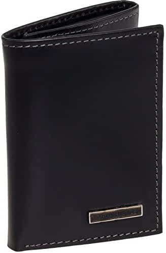 Tommy Hilfiger Mens Smooth Leather Trifold Wallet