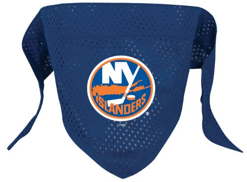 NHL New York Islanders Pet Bandana, Team Color, Small