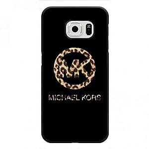 High Quality Design Phone Protector Suit For Samsung Galaxy S6Edge Michael Kors MK Logo Protective Phone Funda