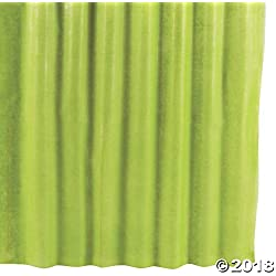 Fun Express Lime Green Gossamer Roll 100 FT X 3 FT Wedding Aisle Decoration, Table Cover