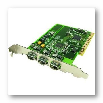 Adaptec FireConnect 4300 Kit: FireWire adapter - PCI - Firewire - 3 ports (Discontinued by Manufacturer) by Adaptec