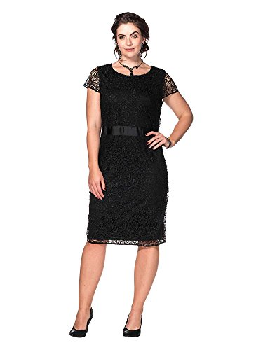 Joe Browns Vestido de encaje tallas grandes Mujer negro