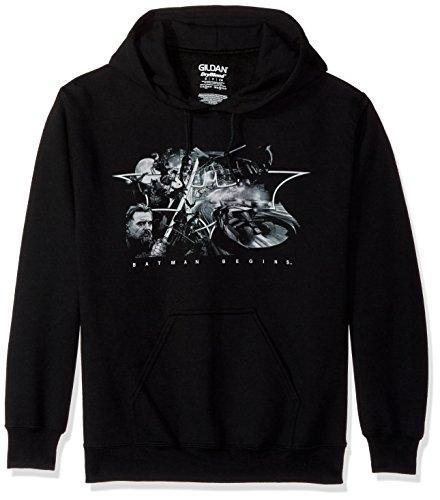 Trevco Men's Batman Begins Night Natives Hoodie Sweatshirt at Gotham City Store