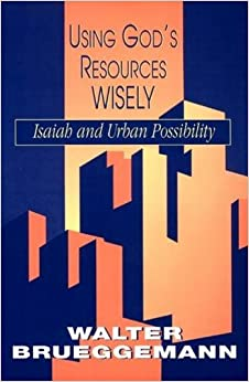Using God's Resources Wisely: Isaiah and Urban Possibility by Walter Brueggemann (1993-08-01)