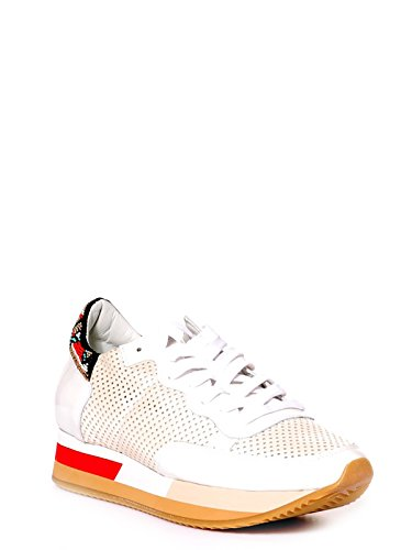 Philippe Model Women's TPLDSP11 White Leather Sneakers buy cheap from china pay with paypal outlet purchase free shipping 2014 newest 9PFZIuG