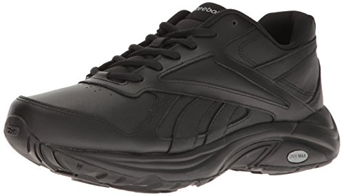 Reebok Men's Ultra V Dmx Max Walking Shoe, black/Flat Grey, 11 M US (Max Leather)