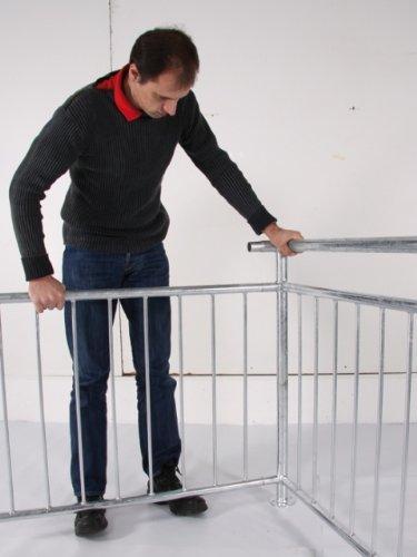 Einzigartig Fertig-Geländer Stahl verzinkt - Bezeichnung: Fertig Geländer inkl  ER48