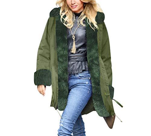 Donna Invernale Autunno Cappuccio Yuch Con Greenl Da Inverno nbsp;giacca 41wXqC