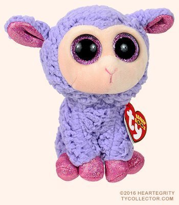 Amazon new ty beanie boos cute lavender the lamb plush toys new ty beanie boos cute lavender the lamb plush toys 6 15cm ty plush negle Images