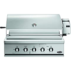 The BH1-36R-L Traditional 36-inch Built-in Propane Gas Grill with Rotisserie by DCS provides one of the highest quality grilling experiences available. Featuring #304 stainless steel construction, this grill has been engineered to withstand t...