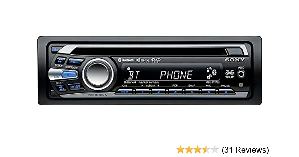 amazon com sony mexbt2700 cd receiver with bluetooth hands freesony mexbt2700 cd receiver with bluetooth hands free with integrated microphone (black) (discontinued by manufacturer)