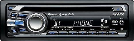 com sony mexbt cd receiver bluetooth hands com sony mexbt2700 cd receiver bluetooth hands integrated microphone black discontinued by manufacturer car electronics
