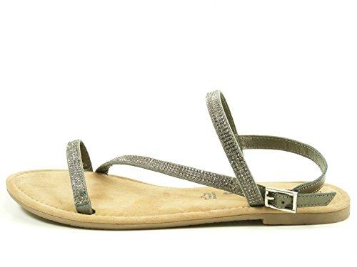 mode Grau Tamaris 28 28143 femme sandales 1 nqCxOI8xwS