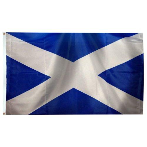 Scotland (St. Andrews Cross) flag 3ft x 5ft Nylon