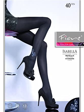 Fiore Collant fantaisie Isabella 40den 8f4faf714af