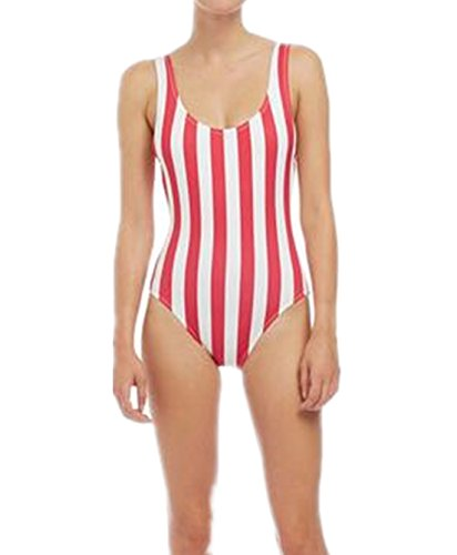 Blooming Jelly Striped Swimsuit Bathing