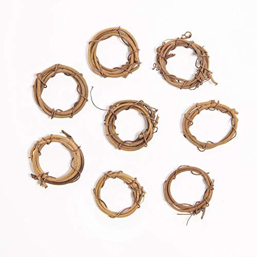Bulk Buy: Darice DIY Crafts Grapevine Wreath Natural 1 inch (6-Pack) 2825-12 -