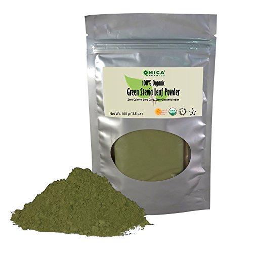Green Leaf Stevia Powder (100 g/3.5 oz)