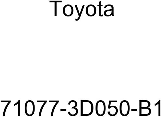 TOYOTA Genuine 71077-3D050-B1 Seat Back Cover