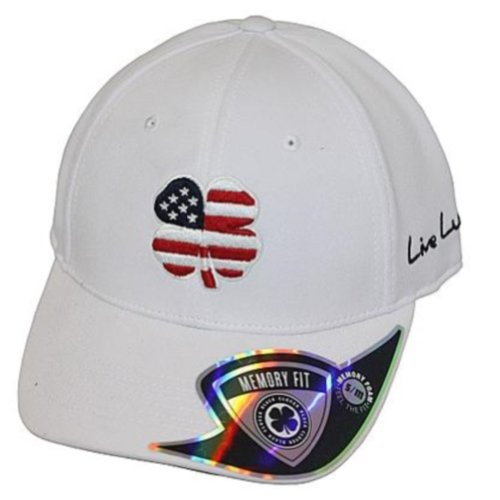 - Black Clover USA Luck #2 Hat, Navy/White, Large/X-Large