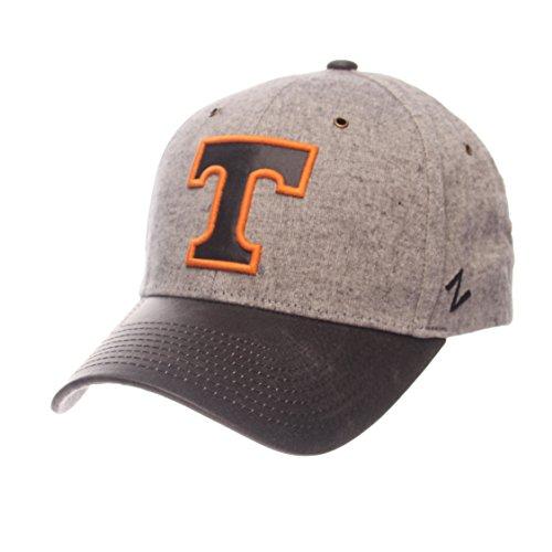 Zephyr NCAA Tennessee Volunteers Adult Men The Supreme Cap, Adjustable, Gray -