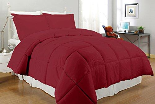South Bay Down Alternative Comforter  Twin  Crimson
