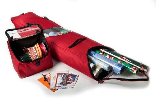 Santa's Bags SB-10130 Hanging Gift-Wrap Storage - Paper Santa
