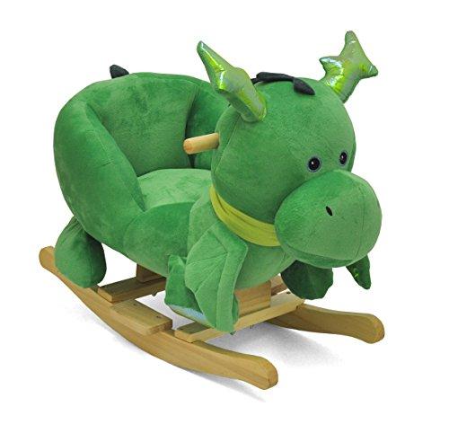 Heritage Kids Dragon Kids Figural Rocking Chair, Green by Heritage Kids
