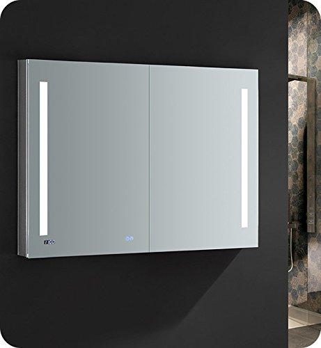 Fresca Tiempo 48 inch Wide x 36 inch Tall Bathroom Medicine Cabinet -