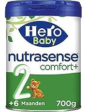 Hero Baby Nutrasense comfort+ 2 (6+m) - 3 STUKS - flesvoeding - dieetvoeding baby - krampjes - spugen - moeizame ontlasting