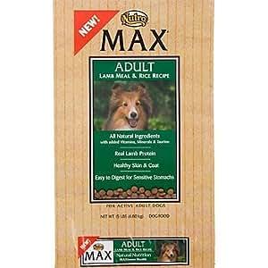 Amazon.com: Nutro Max Lamb and Rice Dry Dog Food 30lb: Pet