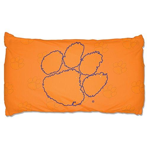 The Northwest Company NCAA Clemson Tigers Pillowcase Setpillowcase Set, Purple, One Size