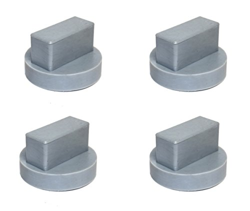 Auto Accessories Dealer 4 Pack Universal for Mercedes Benz Square Slot Polyurethane Jack Pad Adapter