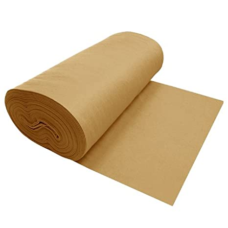 Viscose Felt Tan 1094-72' X 10YD The Felt Store