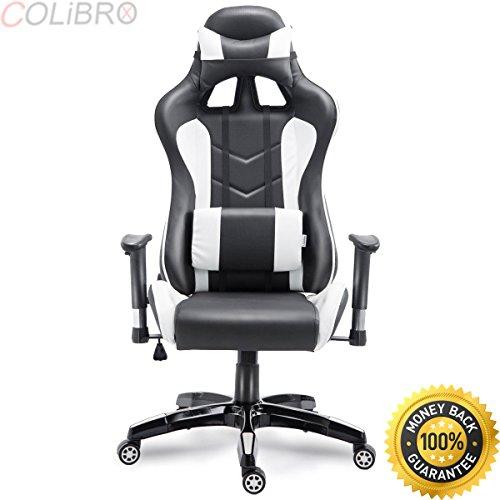 Wal Mart Desk Chair - COLIBROX--High Back Executive Racing Reclining Gaming Chair Swivel PU Leather Office Chair. high back executive racing reclining gaming chair swivel pu leather office chair. gaming chair walmart.