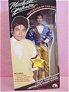LJN Michael Jackson Barbie Doll Superstar of the 80's Gra...