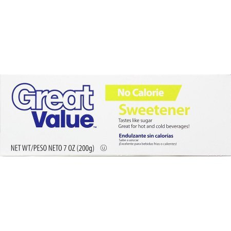 Amazon.com : PACK OF 8 - Great Value No Calorie Sucralose Sweetener Packets, 200ct Box : Grocery & Gourmet Food