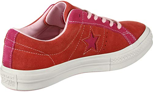 Lifestyle pink Converse Red Enfant Basses One Sneakers Ox 603 Mixte enamel Multicolore Star Pop dwRUwqTg