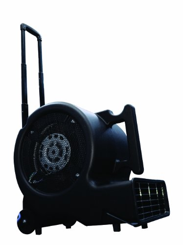 Tundra Tusk CD0501 Aurora Air Mover with 3 Fan Speed, 0.5 HP Motor, 26