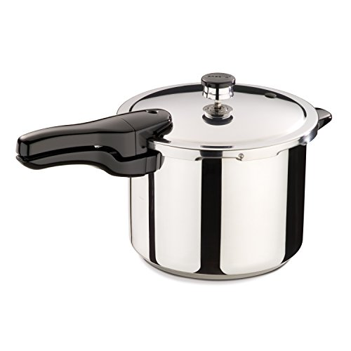 Presto 01362 6-Quart Stainless Steel Pressure Cooker by Presto