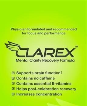 Clarex Formule mentale récupération Clarté 15 Comprimés
