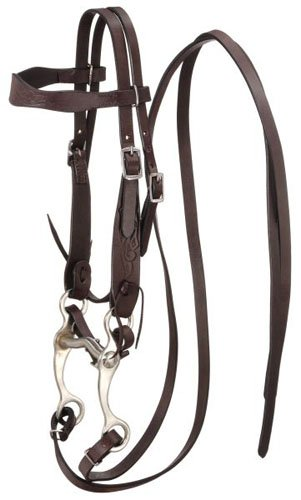 (King Series Pony Embossed Browband Headstall)