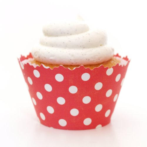 (Simply Wrappers Polka Dots Cupcake Wrappers (Ruby Red))